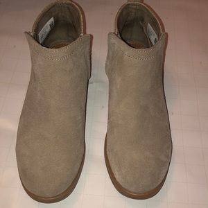 Toms Youth Size 4 Mixed Media Bootie